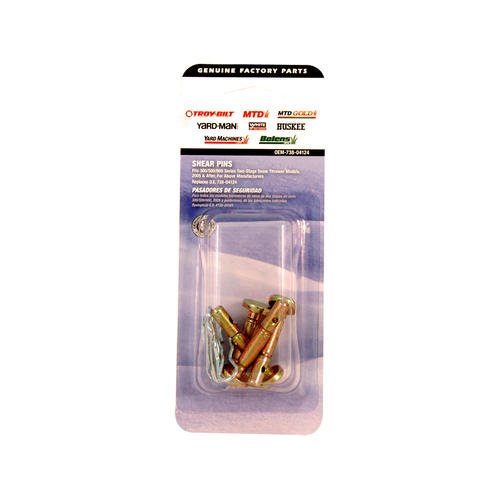 MTD® Two-Stage Snow Blower Shear Pins - 4 Pack at Menards®