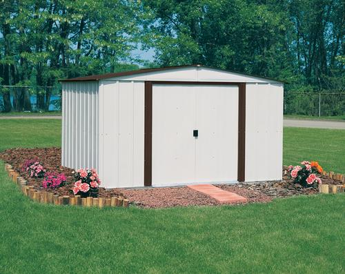 arrow newburgh 10 x 8 steel shed at menards - Garden Sheds Menards