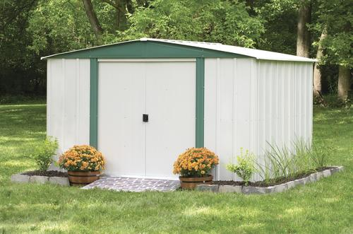 arrow hamlet 10 x 8 steel shed at menards - Garden Sheds Menards