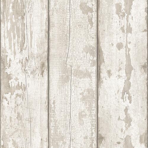 Arthouse Artistick Whitewash Wood Non Woven Peel Stick Wallpaper Roll At Menards