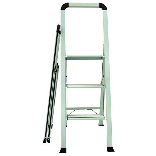 Astounding Ascent Designer Series Type Ii Slim Aluminum Teal 3 Step Cjindustries Chair Design For Home Cjindustriesco