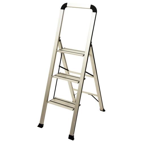Cool Ascent Designer Series Type Ii Slim Aluminum Silver 3 Step Cjindustries Chair Design For Home Cjindustriesco