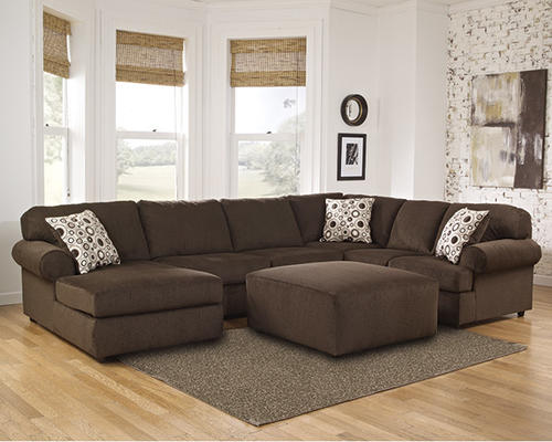 Room Solutions By Ashley® 3 Piece Cafe Chenille Sectional At Menards®