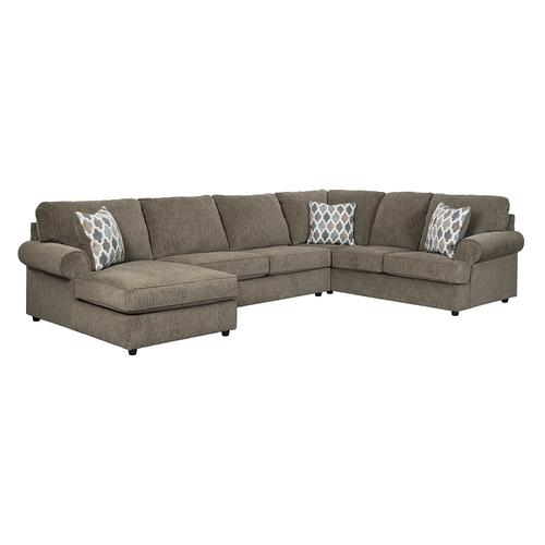 Ashley Mohall Brown Sectional