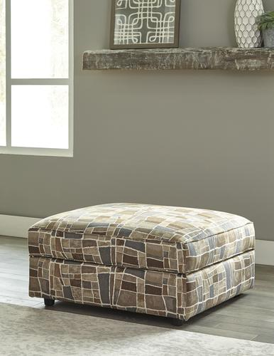 Excellent Room Solutions By Ashley Fultrim Storage Ottoman At Menards Machost Co Dining Chair Design Ideas Machostcouk