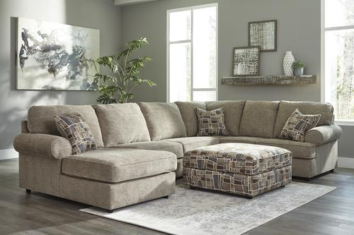 Room Solutions By Ashley Fultrim Sectional At Menards