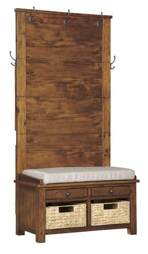 Room Solutions Hall Tree With Storage Bench At Menards