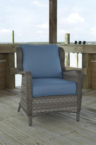 Signature Design By Ashley Abbots Court Deep Seating Patio Chair