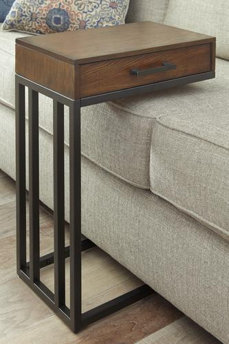 signature design by ashley slide under sofa table at menards. Black Bedroom Furniture Sets. Home Design Ideas