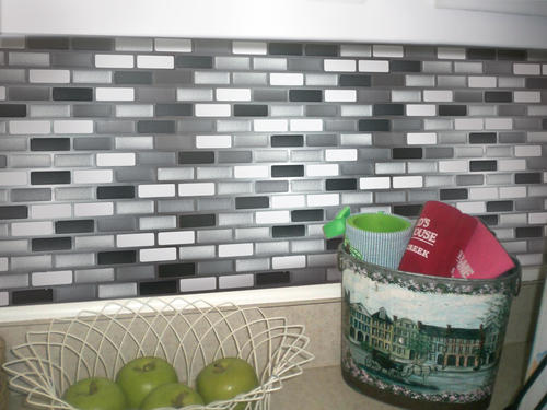 Peel Amp Impress Peel And Stick Backsplash Tiles 4 Pack