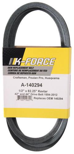 K-Force Kevlar Replacement Drive Belt at Menards®