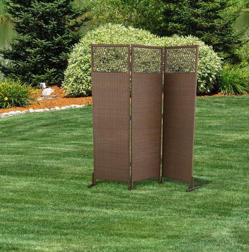 Backyard Creations™ 6' Wicker Privacy Screen At Menards®