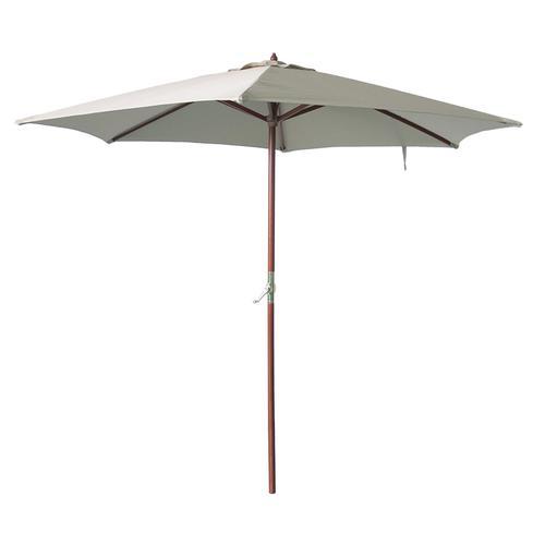 Backyard Creations 9 Wood Patio Market Umbrella Assorted Colors