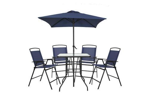 - Backyard Creations® Balcony 6-Piece Folding Dining Patio Set At Menards®