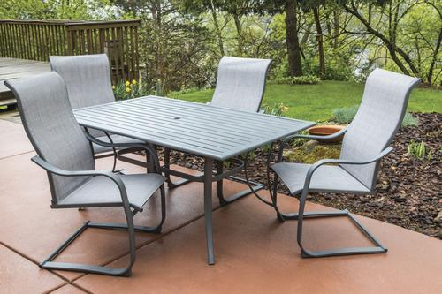 Backyard Creations® Knightdale 5 Piece Dining Patio Set At Menards®