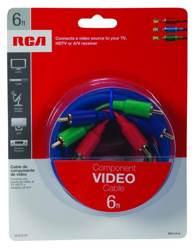 RCA 6' Component Video Cable at Menards®