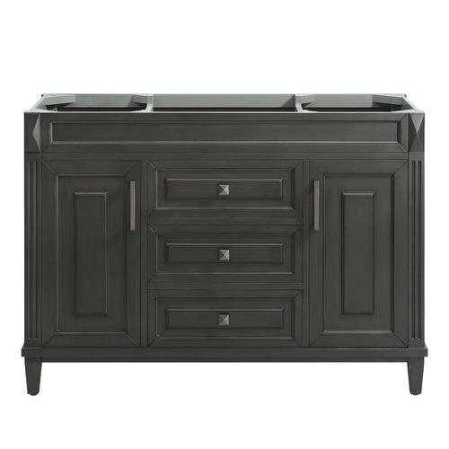 Azzuri by avanity bourne 48 w x 21 d charcoal bathroom - Menards bathroom vanities 48 inches ...