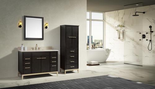 Avanity Hepburn 48 W X 21 1 2 D Dark Chocolate Bathroom
