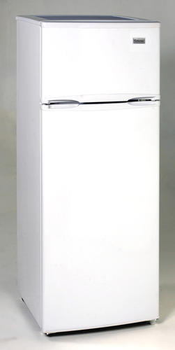 Criterion® 7.4 cu. ft. White Compact Refrigerator with Top Freezer ...
