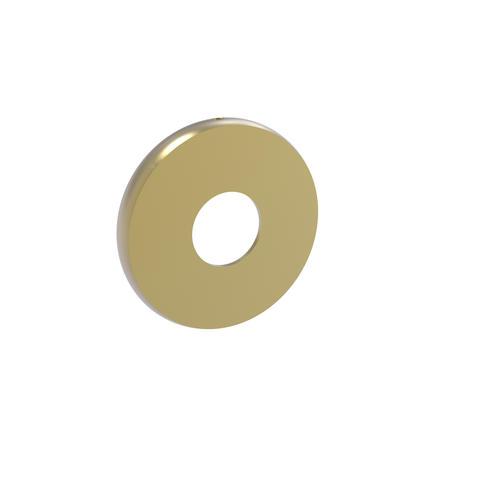 Allied Brass Skyline Collection Satin Brass Shower Rod Brackets At