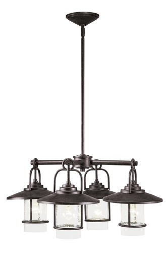 Patriot Lighting Elegant Home 4 Light Miner Bronze