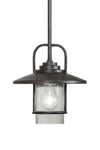 Patriot Lighting Elegant Home Miner Bronze 1 Light Mini
