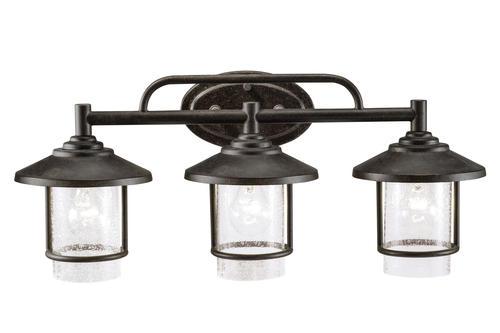 "Patriot Lighting® Elegant Home Miner 24-1/2"" Bronze 3"