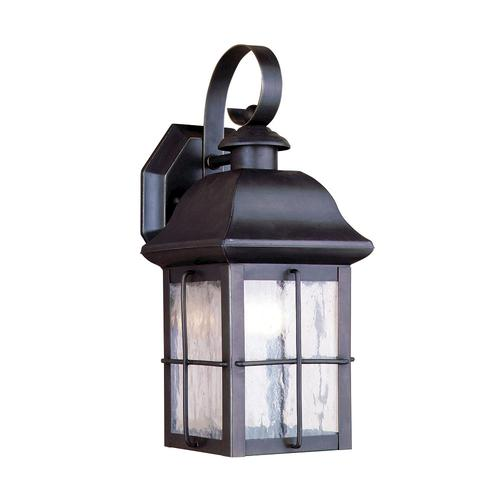 Patriot lighting hawkins 13 painted olde bronze 1 light outdoor wall light at menards
