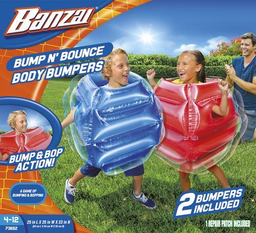 Banzai Bump n Bounce Body Bumpers n