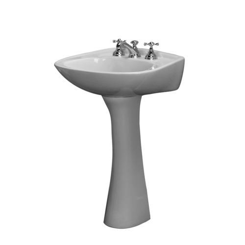 Barclay Hartford Pedestal Sink.Barclay Hartford Pedestal Bathroom Sink Column Column Only At Menards