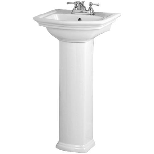 Barclay Washington 460 Pedestal Sink One Faucet Hole At Menards