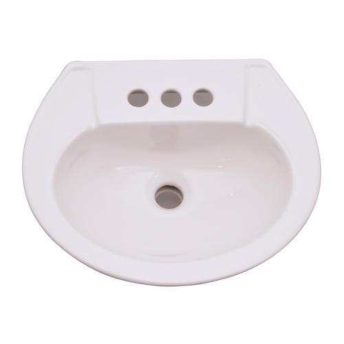 Barclay Hampshire 450 Pedestal Sink, 4 Inch At Menards®