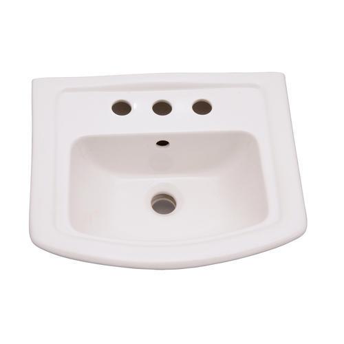 Barclay Washington 460 Pedestal Sink 8 Widespread At Menards