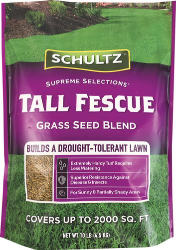 Schultz Tall Fescue Grass Seed Mixture At Menards