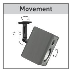 Barkan Full Motion Wall Amp Ceiling Speaker Mounts At Menards 174