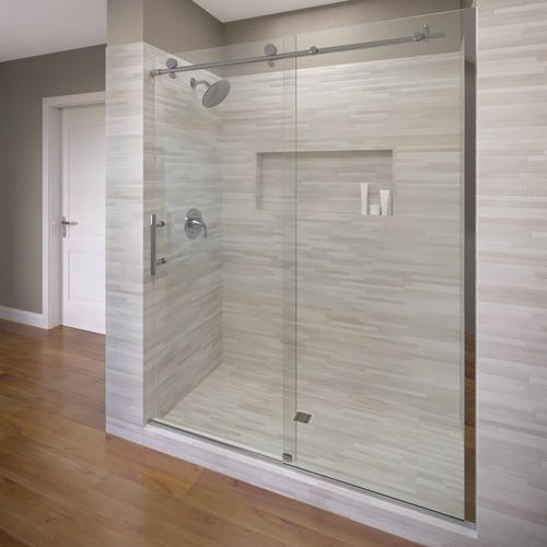 RODA by Basco Vinesse Rolling Door and Fixed Panel Shower ...