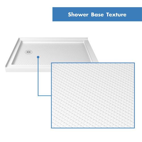DreamLine Cornerview Framed Sliding Shower Enclosure and SlimLine 36 in  by  36 in  Double Threshold Shower Base in White at Menards. DreamLine Cornerview Framed Sliding Shower Enclosure and SlimLine