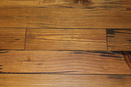 Homestead 3 4 X 5 1 8 Handscraped Dark Honey Pine Solid Hardwood