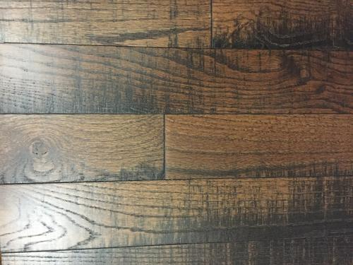 Homestead 3 4 X Rough Sawn Dark Sierra Oak Solid Hardwood Flooring 18 5