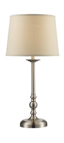 Patriot Lighting® Tucker 2 Pack Satin Nickel Table And Floor Lamp At Menards ®