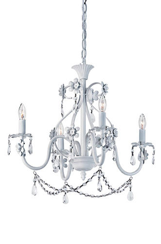 Patriot Lighting® Dierdre 20  4-Light Antique White Chandelier at Menards®  sc 1 st  Menards & Patriot Lighting® Dierdre 20