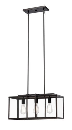 Patriot Lighting Elegant Home Brody 22 3 Light Island