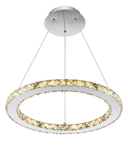 Patriot Lighting Elegant Home Noah Dimmable Led Circle Pendant Light