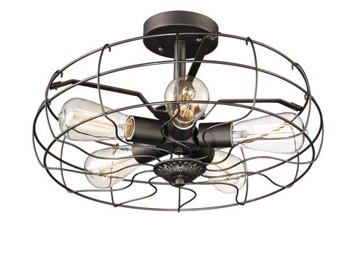 Patriot Lighting® Elegant Home Blake Antique Silver 5-Light Semi-Flush Ceiling Light at Menards®  sc 1 st  Menards & Patriot Lighting® Elegant Home Blake Antique Silver 5-Light Semi ... azcodes.com