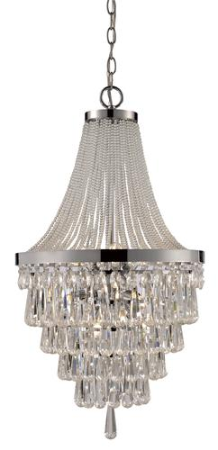 Bel Air Lighting Crystal Cove 9 Light Polished Chrome