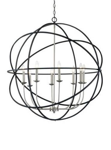 Bel Air Lighting Apollo 8 Light Pendant At Menards