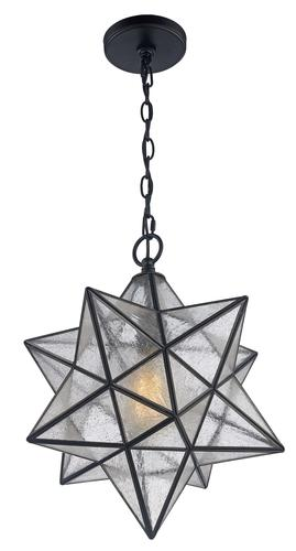 Patriot Lighting Star Black 1 Light Pendant At Menards