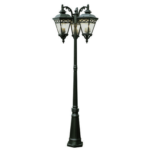 Bel Air Lighting Villa Estate 81 3 Lantern Outdoor Lamp