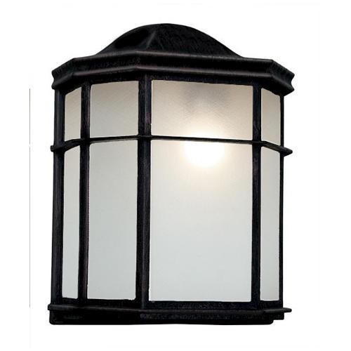 Bel Air Lighting Patio Pocket Black Outdoor Porch Light At Menards