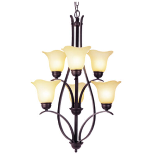 Patriot LightingR Adalynn 6 Light 23 Oil Rubbed Bronze Chandelier At MenardsR